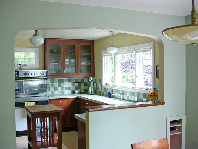 ordinary Cape Cod Kitchen Remodel #1: 1943 Cape Cod Kitchen Remodel traditional-kitchen