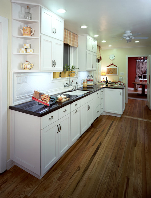 1946 California Bungalow Kitchen Laundry Remodel Transitional