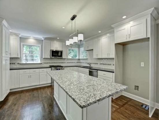 1948 house in decatur ga that has been completely remodeled for Angela bonfante kitchen designs