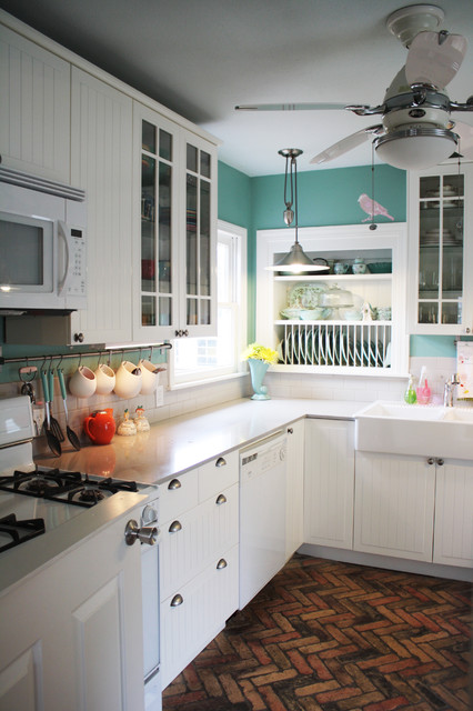 Cottage Kitchen Traditional Austin Spark Interior Style