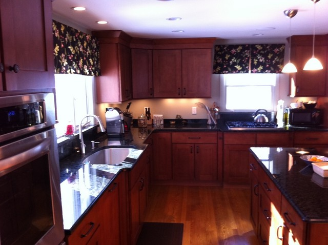 1950's West Hartford Cape traditional-kitchen