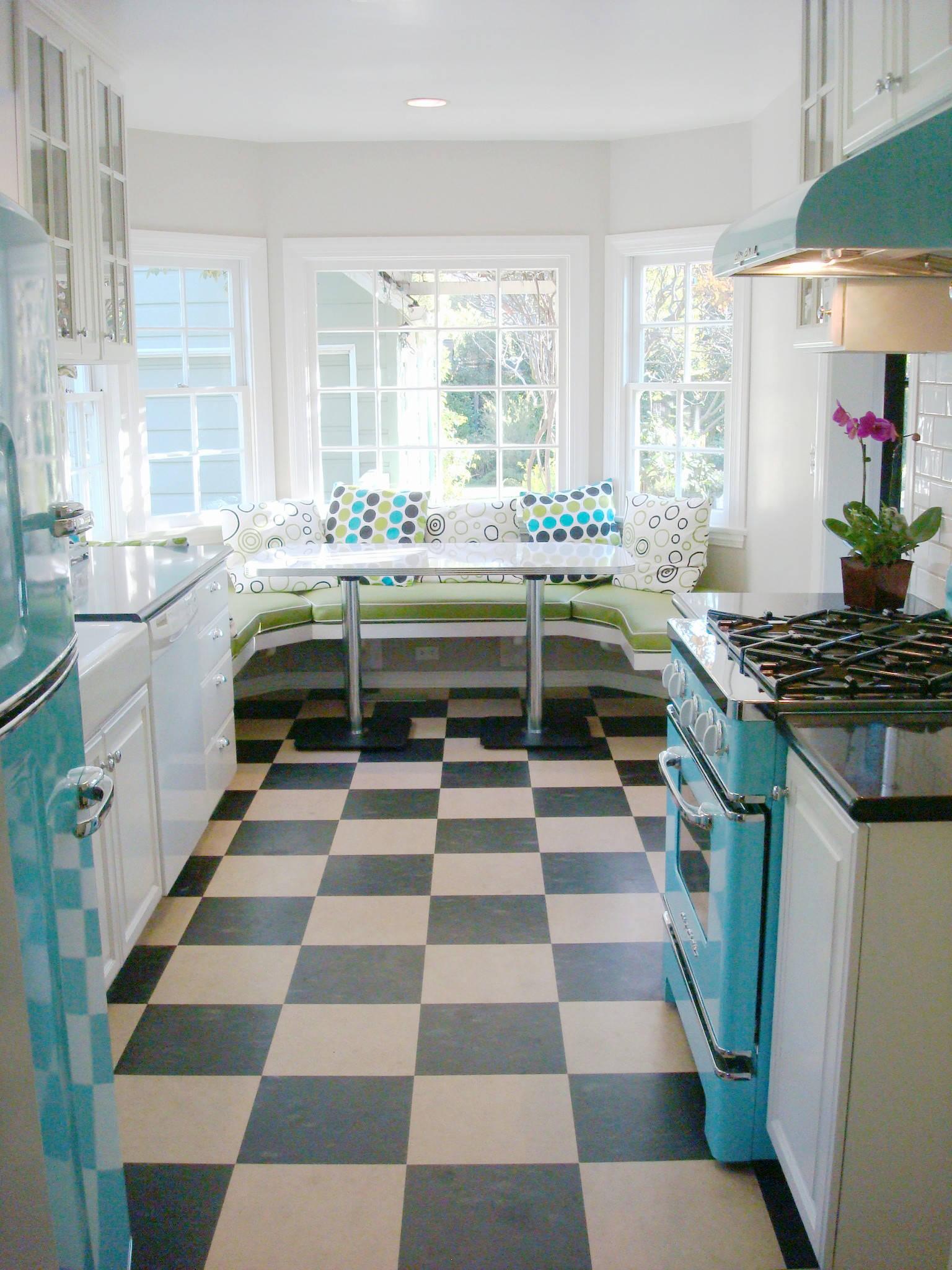Retro Floor Tiles   Houzz