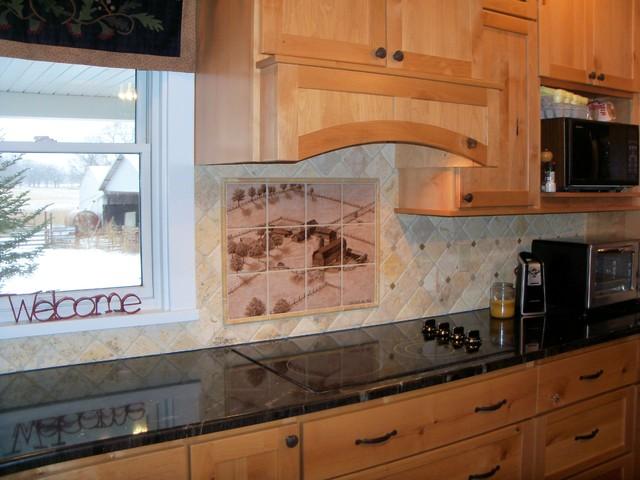 hand painted kitchen backsplash tile mural kitchen other by hand