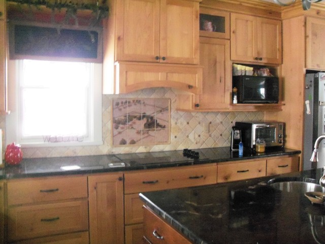 1953 concord michigan farmstead hand painted kitchen