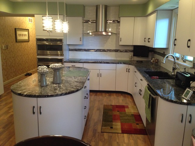 1960 Kitchen Family Room Update