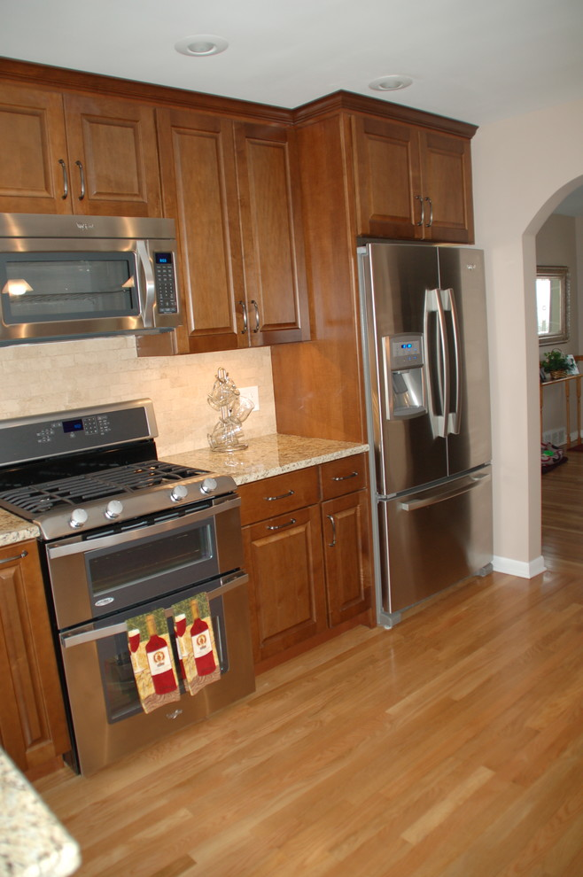 1960's Ranch Kitchen Remodel Niles-Before & After ...