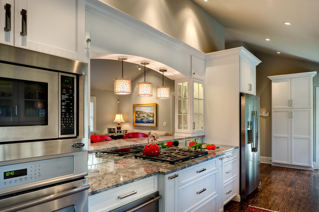 1960s Ranch Remodel Traditional Kitchen Charlotte