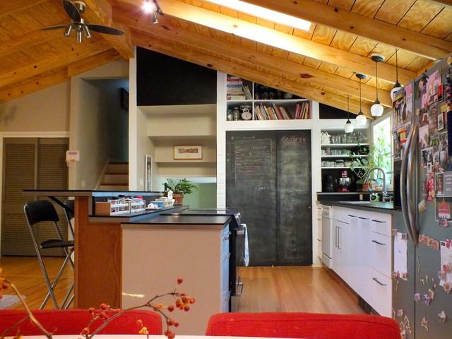 1960s tri level remodel for Tri level kitchen remodel