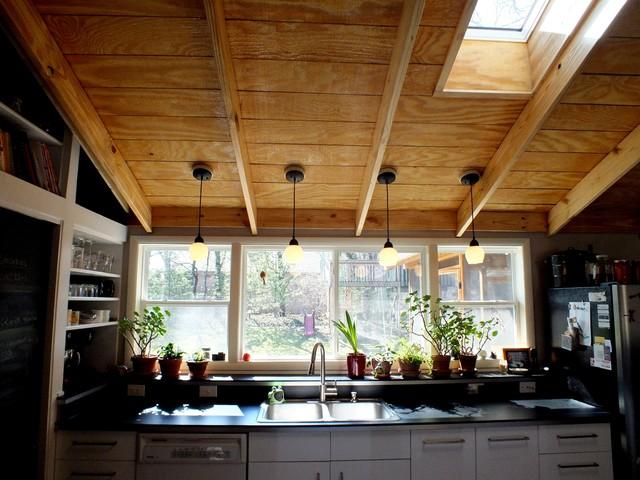 1960s Tri Level Remodel Modern Kitchen Indianapolis