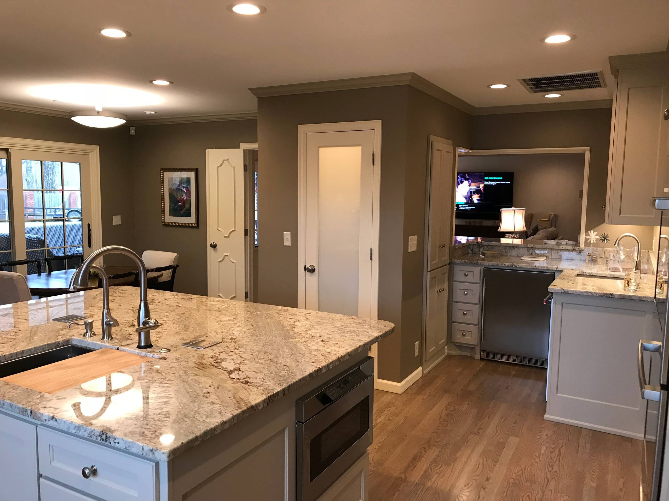 1961 Ranch House Remodel And Update Transitional Kitchen Other By Tulsa Design Therapy Houzz