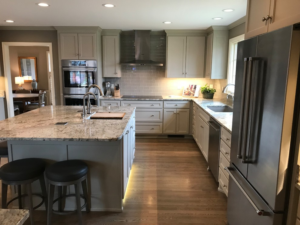 1961 Ranch House Remodel and Update - Transitional ...