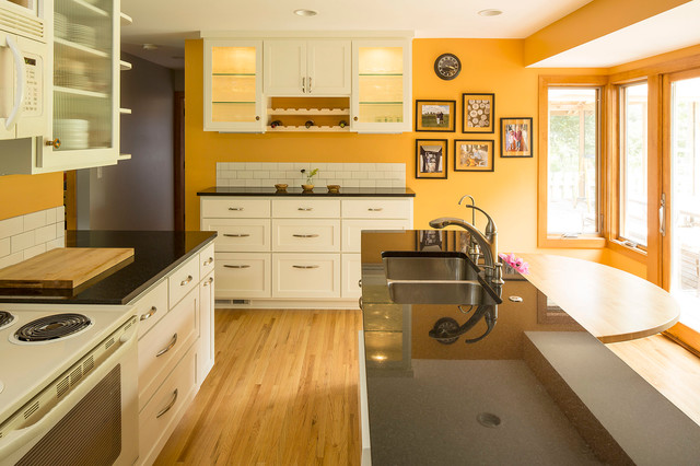 1962 rambler remodel traditional kitchen minneapolis