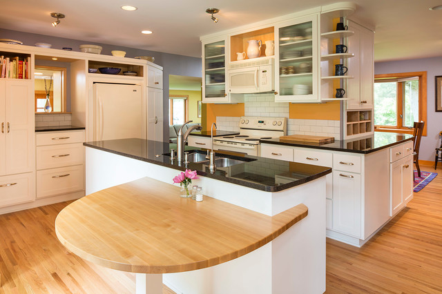 1962 Rambler Remodel - Traditional - Kitchen - Minneapolis ... on cape cod remodeling ideas, ranch style house additions ideas, colonial remodeling ideas, contemporary remodeling ideas, custom remodeling ideas, mobile home landscaping ideas, low ceiling basement remodeling ideas,