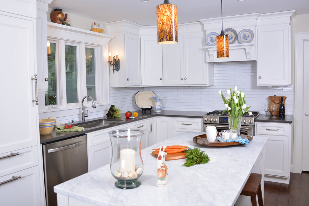 1970 Ranch Home Remodel - Transitional - Kitchen ...