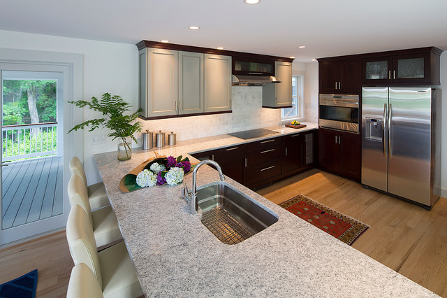 1970s Update - Contemporary - Kitchen - Other - by Frank Anzalone Associates