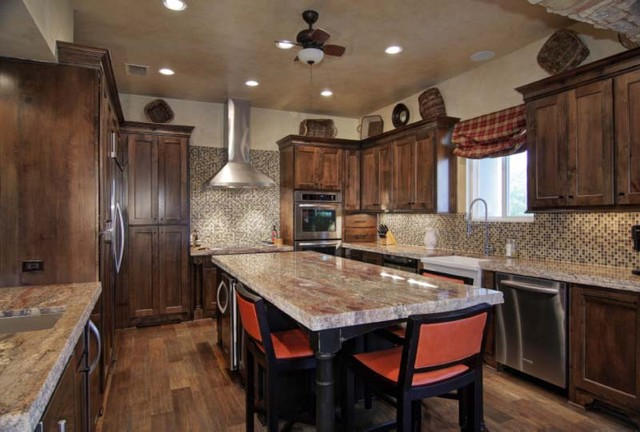 1970 s waterfront remodel in spicewood for 1970s kitchen remodel