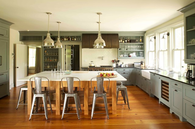 19th Century Farmhouse Renovation; updated photos by Mick Hales ...