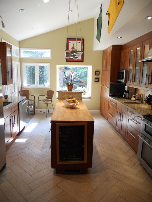 Great kitchens for two chef families - How to get more counter space in a small kitchen set ...