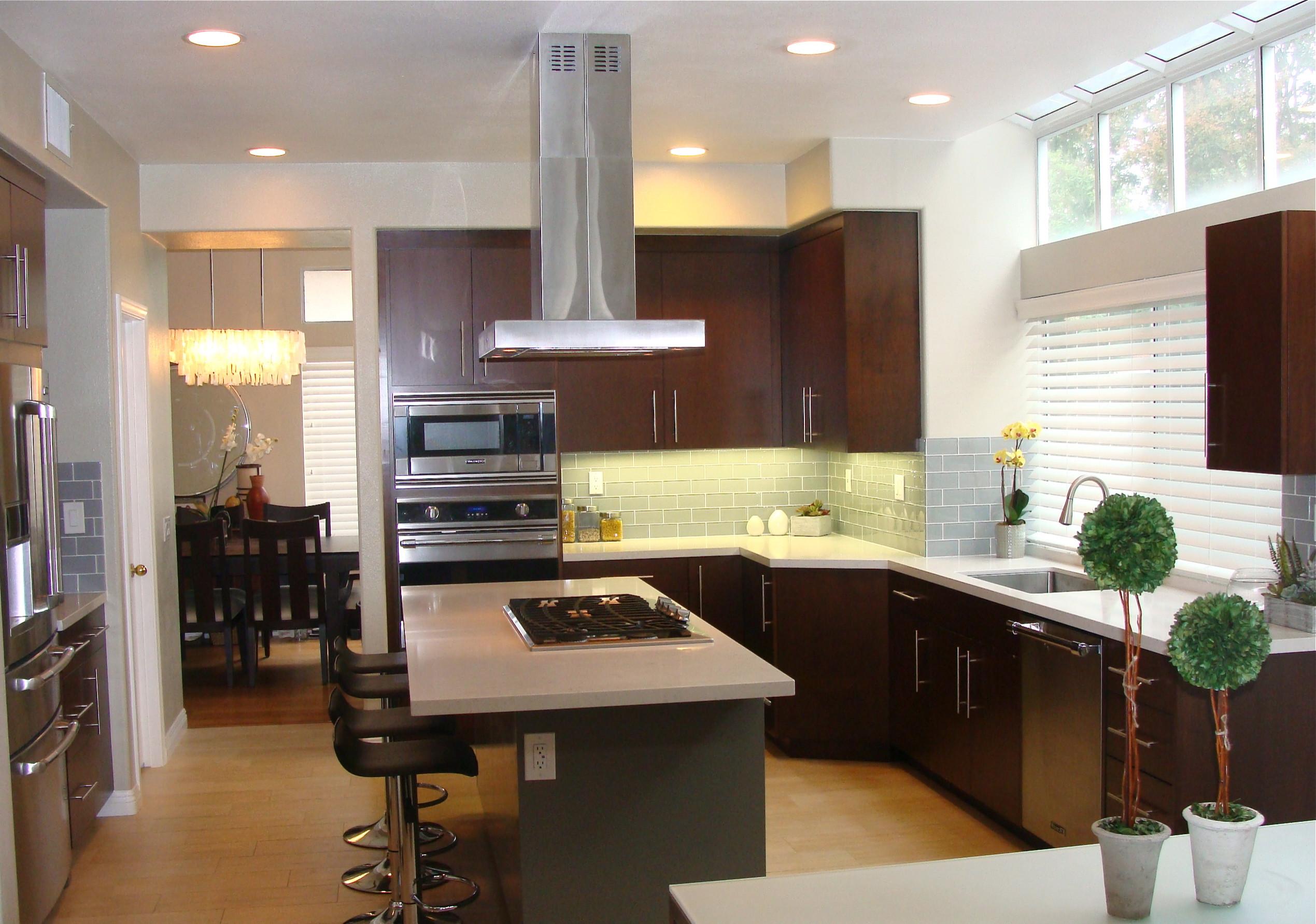 2-tone custom kitchen