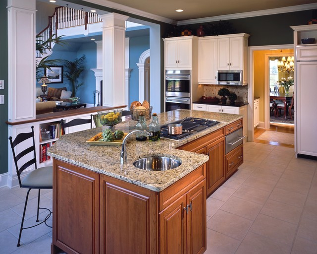 2005 showcase traditional kitchen
