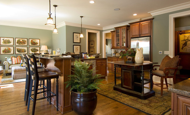 2007 Southern Living Showcase Home traditional-kitchen
