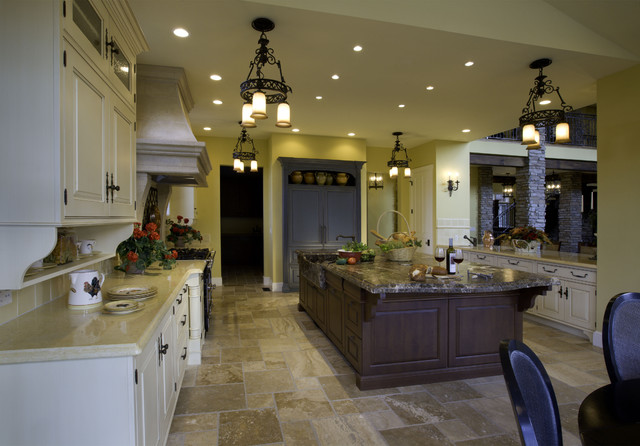 mediterranean kitchen by Rick L Lawrence, AIA, NCARB