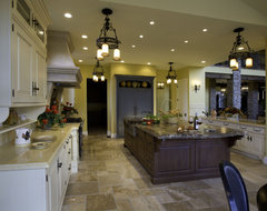 2008 Parade of Homes house mediterranean kitchen