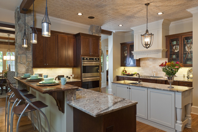 2010 Southern Living Showcase Home Traditional Kitchen