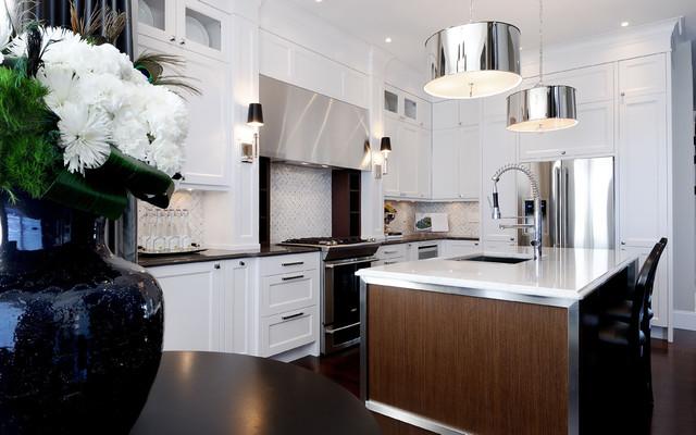 آشپزخانه معاصر توسط جو شرکت طراحی داخلی