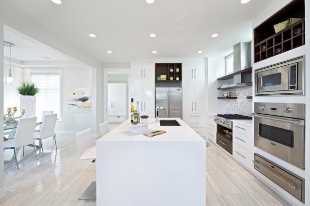 Contemporary Dream Kitchens 2011 stampede dream home