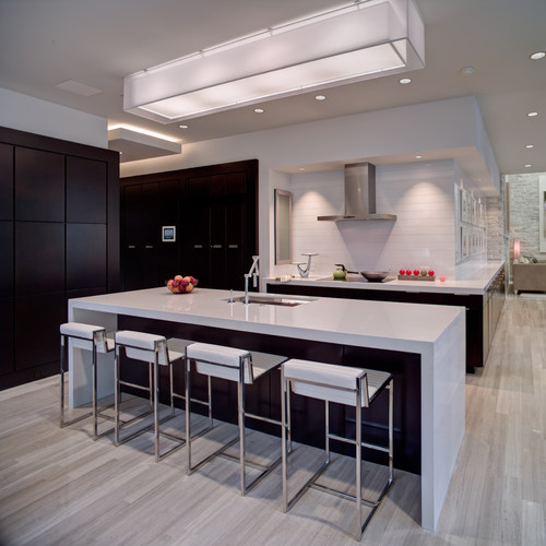 2012 New American Home contemporary kitchen