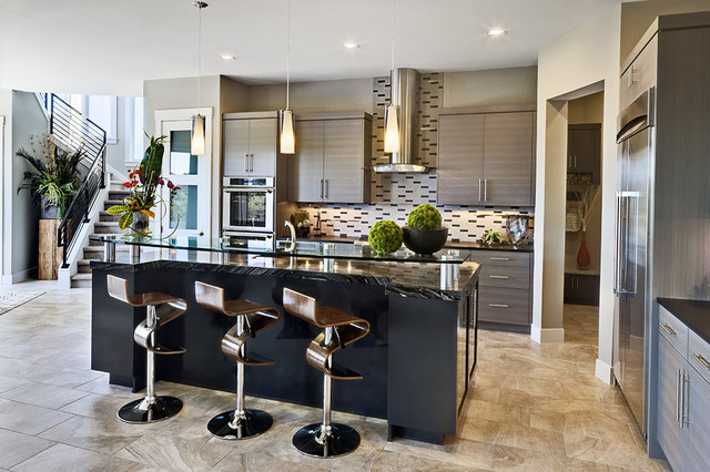 2012 Parade Of Homes contemporary-kitchen