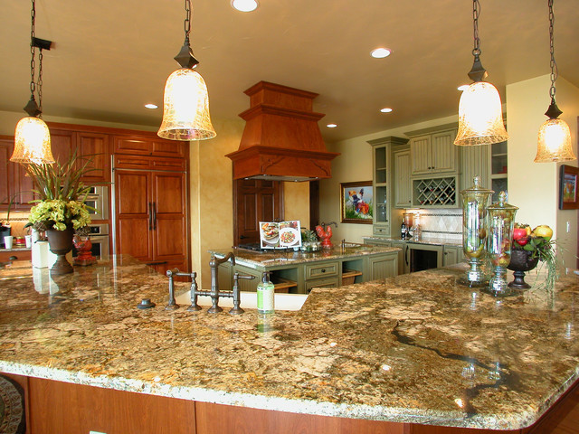 2012 Parade of Homes traditional-kitchen