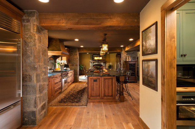 2012 Showcase of Homes - Sandhill Road traditional-kitchen