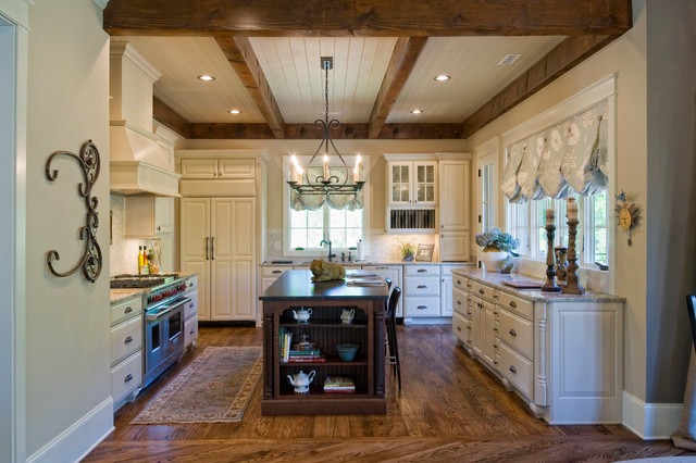 2012 southern living showcase home craftsman kitchen for Southern living kitchen designs