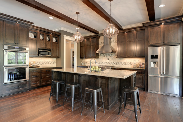 2013 luxury home inver grove heights traditional for Traditional luxury kitchen