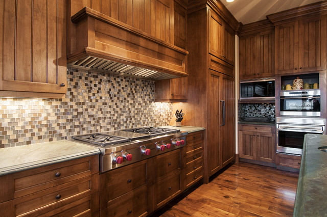 2013 Park City Showcase of Homes by Utah Home Builder, Cameo Homes Inc. rustic-kitchen