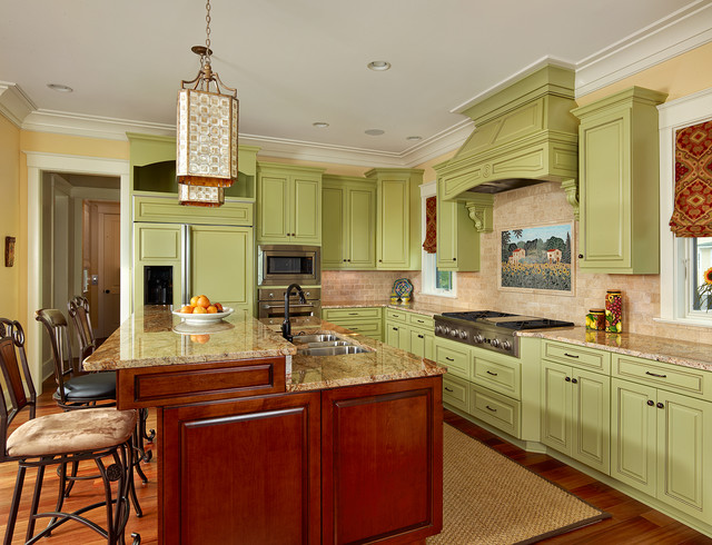 2013 Prism Award Finalist - North Creek Residence traditional-kitchen
