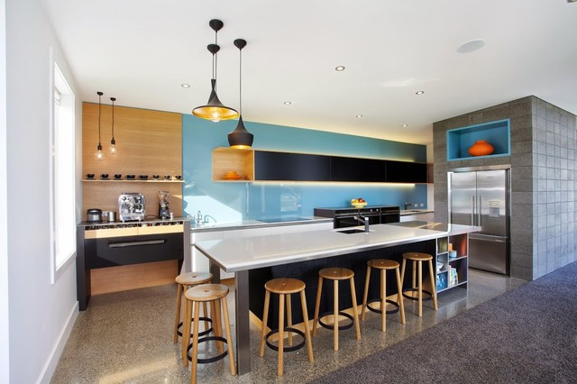2014 design award contemporary kitchen dunedin by for Kitchen design dunedin
