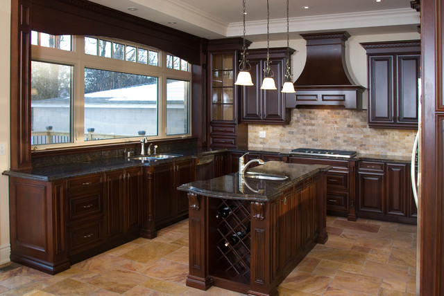 2014 Design Awards Traditional Kitchen Toronto By Symphony Kitchens Inc