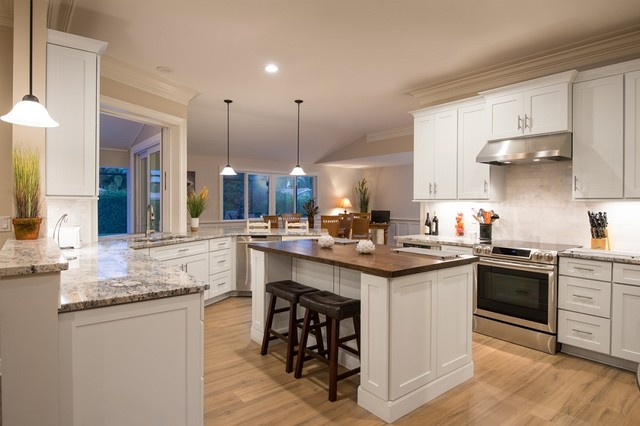 2014 Kitchen Showdown Makeover Contest First Place Winner traditional