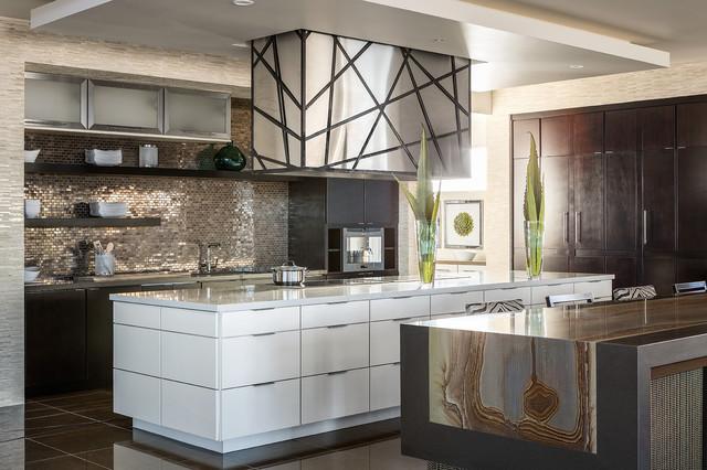 2014 New American Home Contemporary Kitchen Las