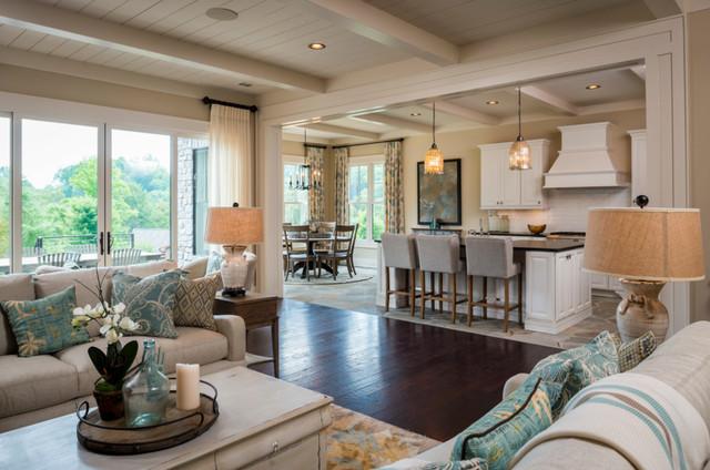 2014 Southern Living Custom Builder Program Showcase Home Craftsman Kitchen