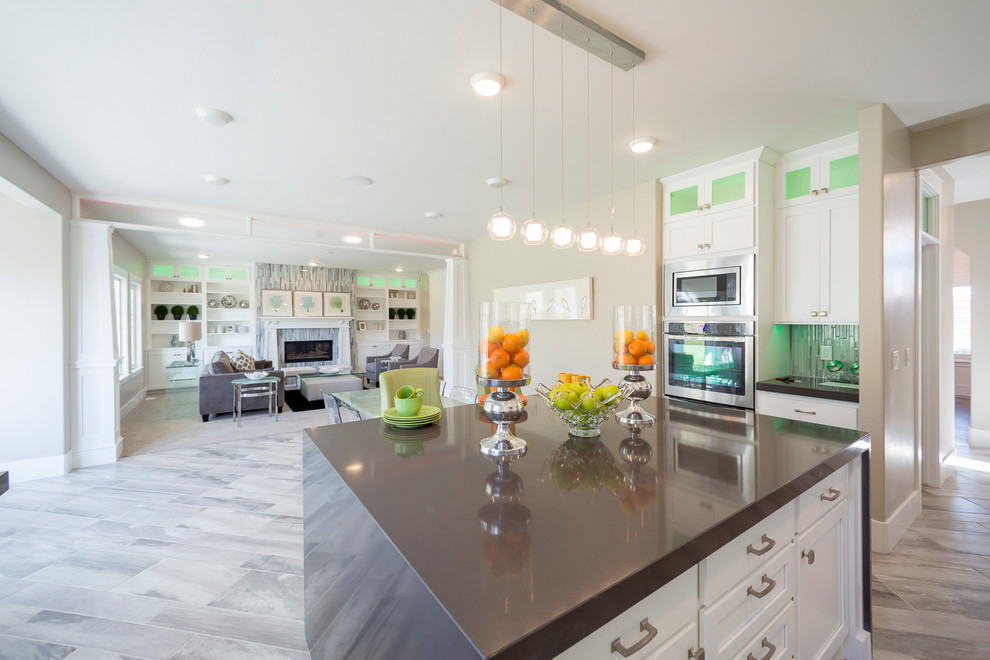 2014 Utah County Parade Of Homes Transitional Kitchen Salt Lake City By Sweetwater Homes