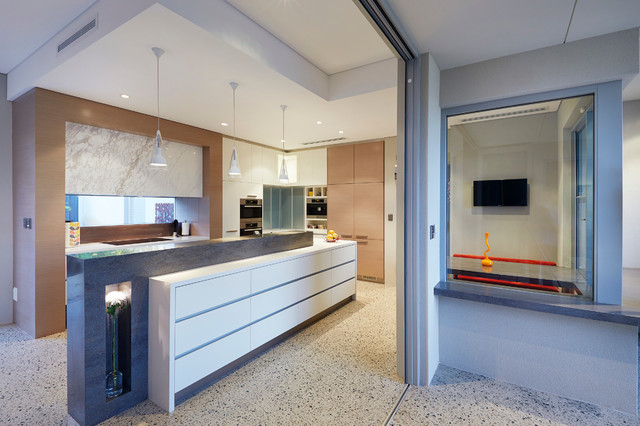 2014 Wa Building Design Awards Winner Yael Kurlansky Contemporary Kitchen Perth By