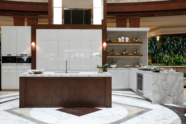 2015 Luxury Living Phipps Plaza Modern Kitchen