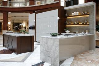 2015 luxury living phipps plaza modern kitchen atlanta by cr