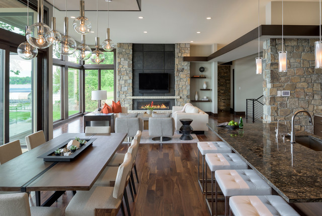 Wonderful 2015 Midwest Home Luxury Home #1   Denali Custom Homes Contemporary Kitchen