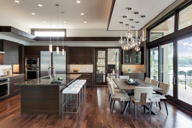 2015 Midwest Home Luxury Home #1 - Denali Custom Homes contemporain-cuisine