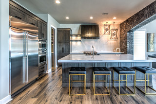 2016 Street Of Dreams Transitional Kitchen Omaha By Advanced House Plans